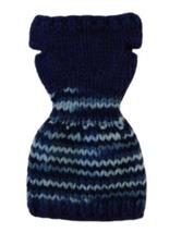 Barbie Doll Clothes Knit Blue Sweater Dress Handmade - $6.49