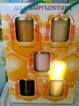 5 Types Packs 2 Kg 100% Raw Pure Organic Wildflower Kyrgyzstan Honey Off... - $113.85