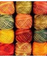 Valdani Floss (3 ply) Fabulous Autumn 12 pc Assortment cross stitch floss - $41.40