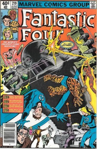 Primary image for Fantastic Four Comic Book #219 Marvel Comics 1980 VERY FINE-
