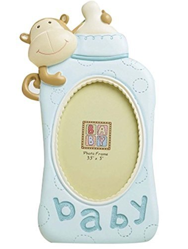 PANDA SUPERSTORE 5-inch Cute Feeding Bottle Baby Photo Frame Wall Children Photo