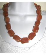 aventurine nuggets  Necklace +Free earrings    HANDMADE   BIG BOLD - $28.00