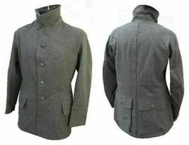 Original vintage Swedish army wool uniform jacket/ coat. Never used. Siz... - $44.78