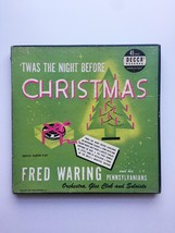 Vintage 1949 Decca 45rpm Twas the Night Before Christmas Record Set