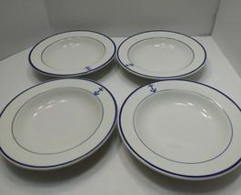 """SET OF 4 SHENANGO NEW CASTLE PA DISH W  CHINA PLATE 9"""" SHENANGO NEW CAST... - $129.99"""