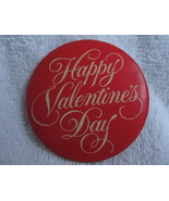 Pinback Button Happy Valentines Day Vintage Hallmark Cards Red Love Pin Badge - $0.00