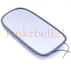 Jaguar 98-06 XKR Left Door Mirror Glass HNA3072AA Heated OEM Driver Side LH - $40.90