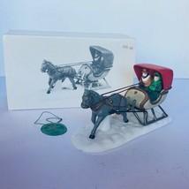 Department 56 Heritage snow village Christmas figurine 5982-0 horse open... - $23.17