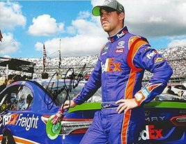 Autographed 2017 Denny Hamlin #11 Fed Ex Freight Racing Chase For The Cup Playoff - $89.96
