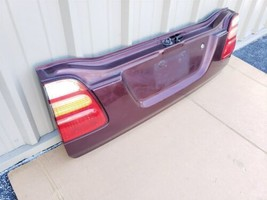 98-07 Toyota Land Cruiser Lower Tailgate Tail Gate Trunk Lid W/ Lights image 2