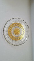 Culver Valencia Mid Century Cheese Plate/Cake Plate With 22k Gold - $41.82