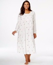 Charter Club Long Night Gown 100% Cotton LARGE ... - $34.60