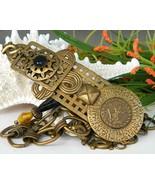 Vintage Marjorie Baer SF Brass Belt Oriental Dancer Links - $84.95