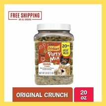 Purina Friskies Party Mix Adult Cat Treats Chicken Liver Turkey Flavor (... - $19.00
