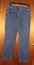 Ladies Talbots Signature Blue Jeans Pants -- Size 12 - $18.99