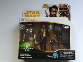 2018 Disney Hasbro Star Wars Force Link 2.0 Kessel Guard & Lando Calriss... - $19.70 CAD