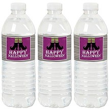 Big Dot of Happiness Happy Halloween - Witch Party Water Bottle Sticker ... - $12.79