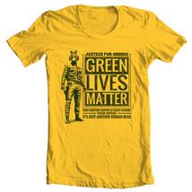 Greedo retro Star Wars T-Shirt Green Lives Matter free shipping 100% cotton image 2