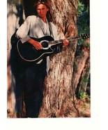 River Phoenix teen magazine pinup clipping sunlight 80's vintage tree gu... - $3.00