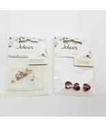 Jolee's Jewels Crystallized Swarovski Elements Heart & Star Bead Lot - $10.67