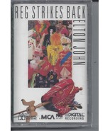 Reg Strikes Back Elton John Cassette 1988 MCA NEW in Shrinkwrap 10 great... - $14.84