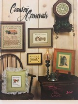 Country Crossroads Counted Cross Stitch Patterns Happy Home Recipe Milk Can - $6.30