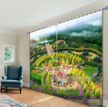 3D Grand Park 5 Blockout Photo Curtain Printing Curtains Drapes Fabric Window AU - $130.83+