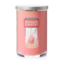 Yankee Candle Line Dried Cotton Large 2-Wick Tumbler Candle - $30.00