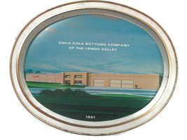 Coca-Cola Bottling Company of the Lehigh Valley Commemorative Tray 1981 - $5.94