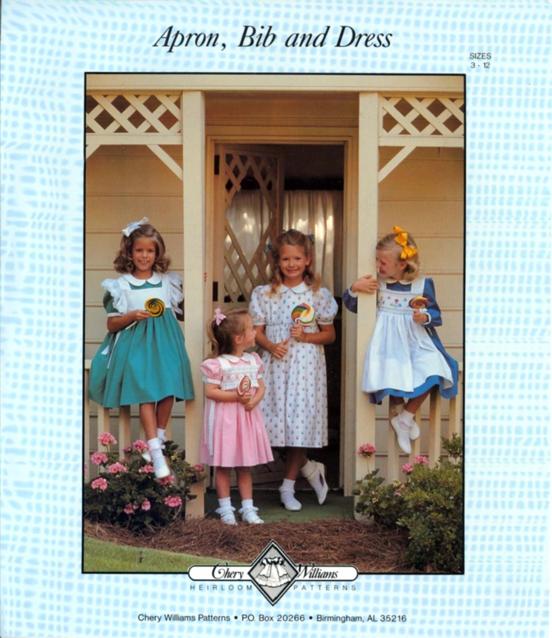 Auction 1232 cw apron dress 3 12 1988 unc