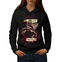 Fire And Blood Fantasy Sweatshirt Hoody Scary Beast Women Hoodie - $21.99+