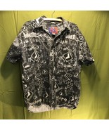 Vintage Pro Player Chicago White Sox Button Front Shirt Men's Medium  - $24.74
