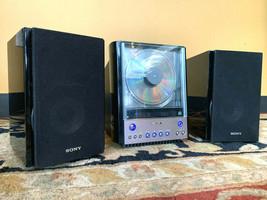 SONY CMT-EX22 AM/FM CD Player Hi-Fi Compact Stereo Bookshelf Component S... - $93.14