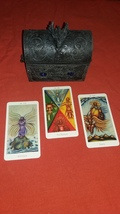 Enochian Tarot Reading with THREE cards make best possible choice. ONE QUESTION - $13.99