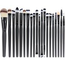 EmaxDesign 20 Pieces Makeup Brush Set Professional Face Eye Shadow Eyeli... - $11.27