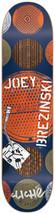 CLICHÉ City Grate Stencil IP Joey Brezinski 8.0 Wide Skateboard Skate Deck image 1
