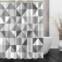 Retro Black white pattern custom Shower Curtain Home Decor Bath curtain for the  - $45.61