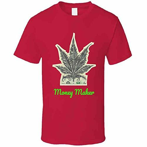 Money Maker 420 Canna T Shirt M Red