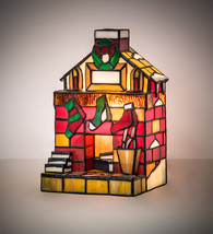 "9""H Tiffany Fireplace Accent Lamp.614 - $468.00"