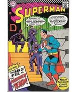Superman Comic Book #191 DC Comics 1966 VERY FINE- - £42.98 GBP