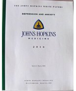 The Johns Hopkins White Papers: Depression and Anxiety [Paperback] Karen... - $19.95