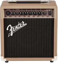 Fender Acoustasonic 15 - 15 Watt Combo Acoustic Guitar Combo Amplifier - $99.99