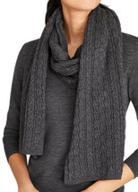 Brooks Brothers Women's Cable-knit Merino Wool Scarf, Gray, One Size, 81... - €71,33 EUR