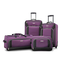 American Tourister Fieldbrook XLT 4 Piece Set Purple 92288-2648 - $129.99