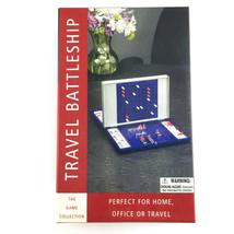 Travel Battleship Game 2004 Aluminium Metal Gameboards Pewter Ships Office - $22.69