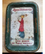 Vintage Queen of Table Waters Apollinaris Table Water Tip Tray 1900s - $79.20