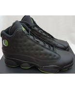Air Jordan 13 XIII Retro BG Altitude 414574-042 Black Green Shoes Size 6.5Y - $118.79