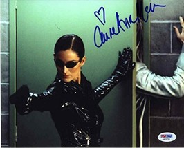 Carrie Anne Moss 'The Matrix' Signed 8x10 Photo Certified Authentic PSA/DNA COA - $296.99