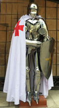 German Gothic Suit of Armor Collectible Larp Halloween Costume - Custom ... - $870.33