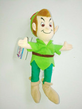 Disney Peter Pan 8'' Plush Toy  New with Tags Disney Store Free Shipping - $15.85